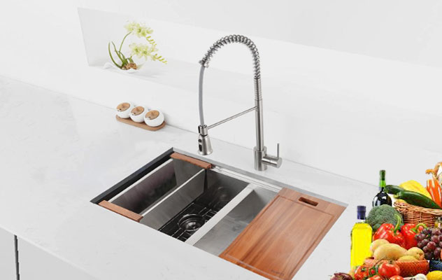 Find The Best Double Bowl Kitchen Sinks Review With Buying Guide