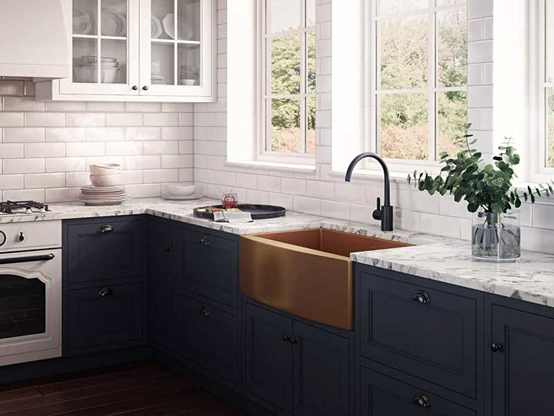 Find The Best Copper Sinks Review With Expert Buying Guide To Interior In Your Kitchen