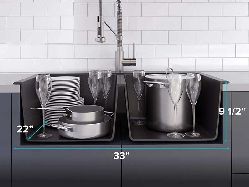 How To Wash Dishes In A Double Sink - Follow This Easy Process