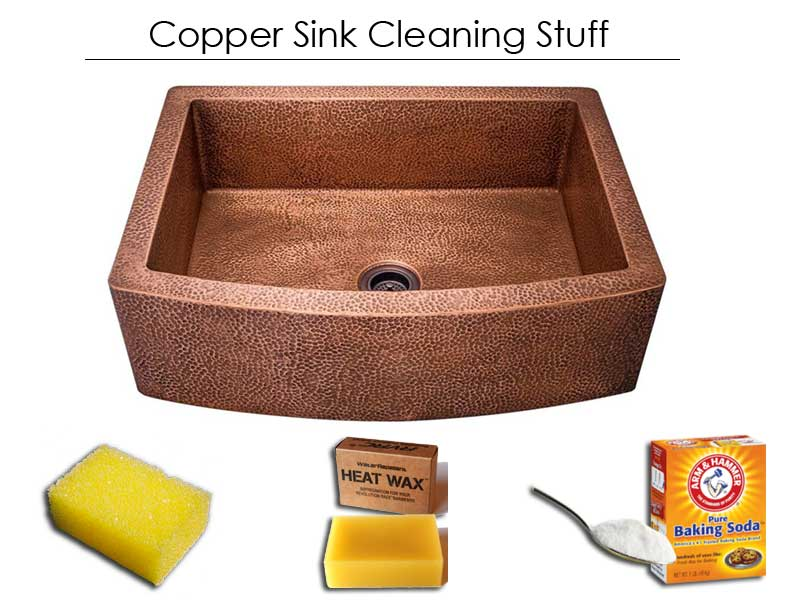 how to clean copper sink at home remedies - a simple tricks