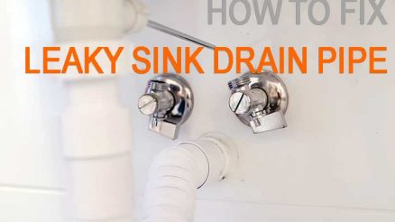 Find The Best Solution How To Fixed Sink Leaky Drain Pipe