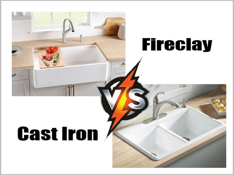 Fireclay Vs Cast Iron Sink (In-depth Different)