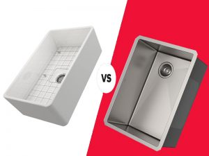 6 Difference Between Fireclay Vs Stainless Steel Sink- Similarities And Dissimilarities